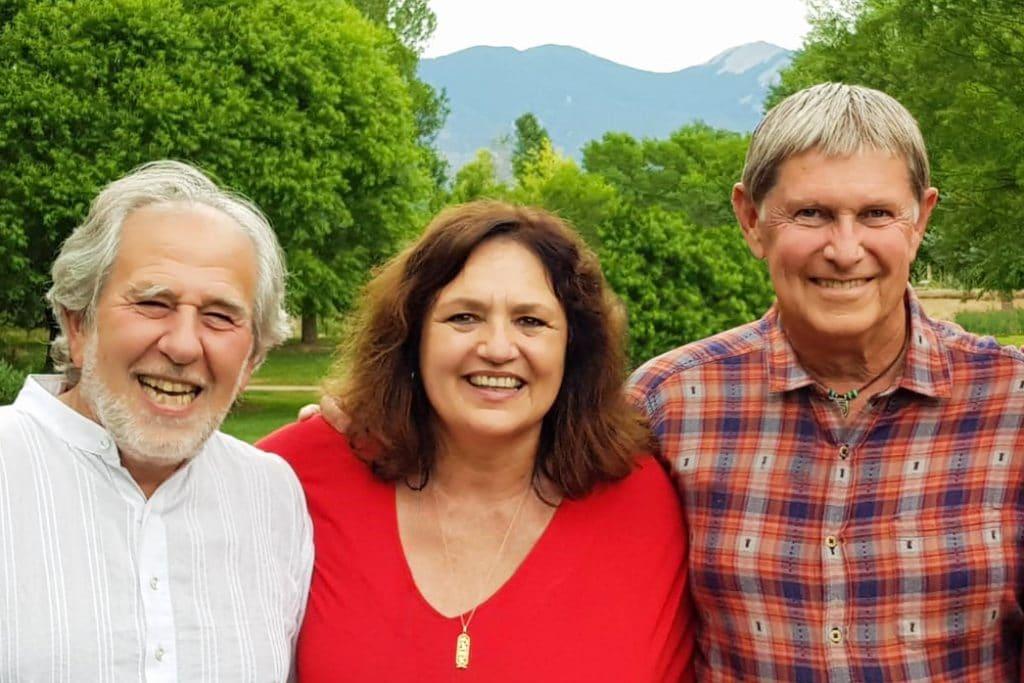 Mica Gellert, Bruce Lipton, Rob Williams, PSYCH-K en Taos