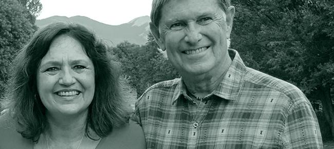 Rob Williams und Mica Gellert in Taos